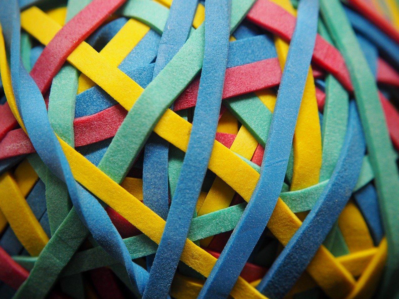 Gummi Schnürsenkel